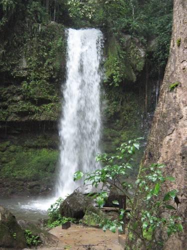 Mahua Waterfall at Crocker Mountain