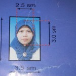 Passport size photo for border pass
