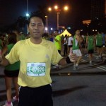 Alone at KL Marathon 2011